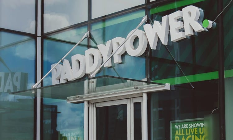 Paddy Power shop signage