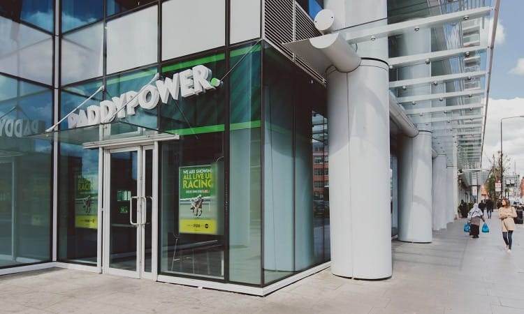 Paddy Power shop front